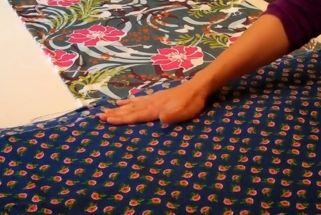 how to prepare knit fabric for sewing