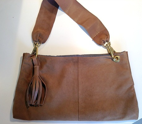 Sheila suede purse pm