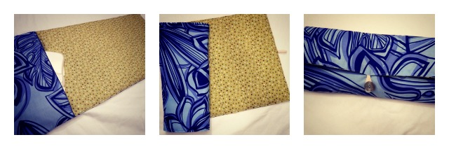 Diaper Changing Pad Clutch From Jordana Paige The Daily Sew