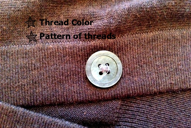 how to sew a button 2