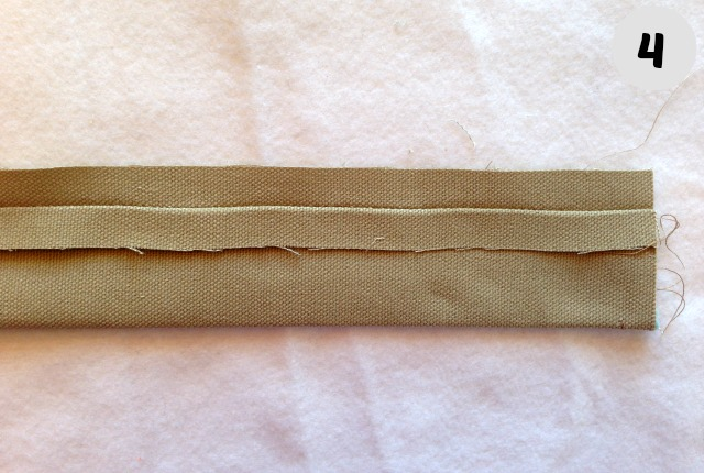 how to turn a fabric tube
