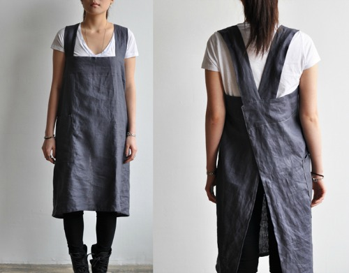 Easy To Make Back Cross Strap Apron The Daily Sew