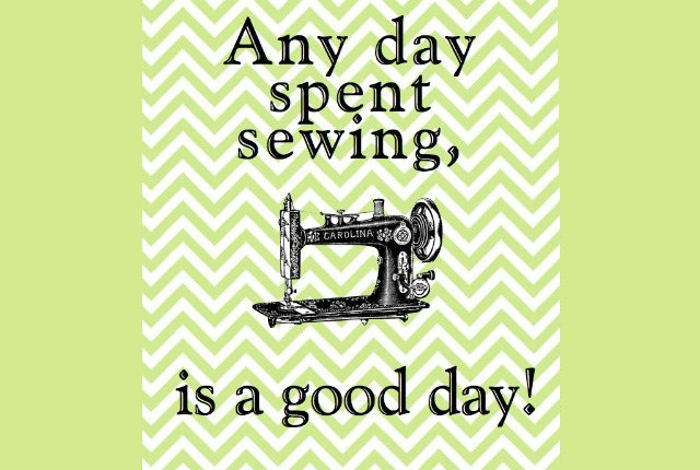any day sewing