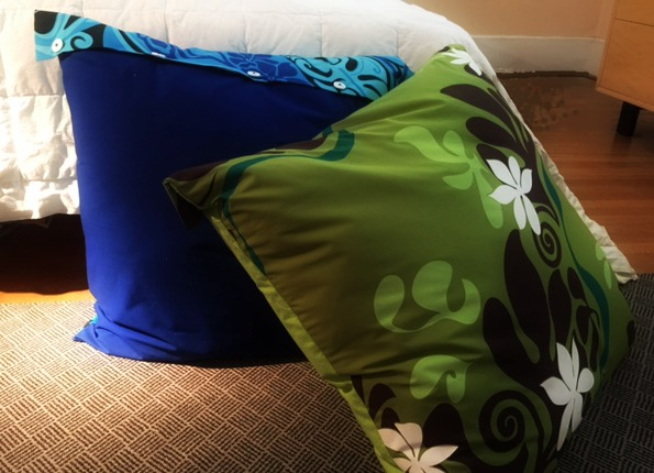 Floor Reading Pillows : Easy to Make Floor Pillow Covers ? The Daily Sew