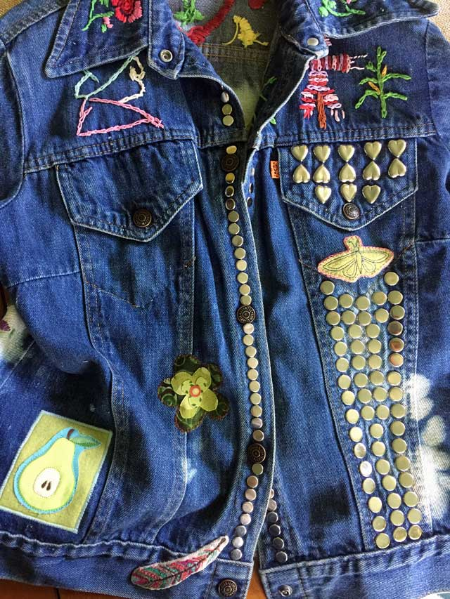 How to Sew On Patches The Daily Sew