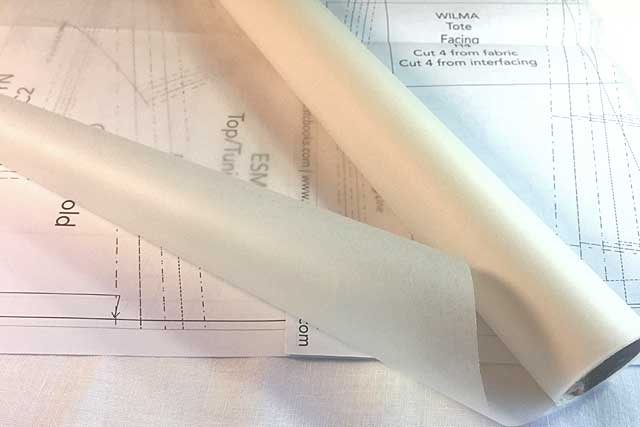 What Type Of Patternmaking Paper Is Best The Daily Sew Adorable Pattern Tracing Paper