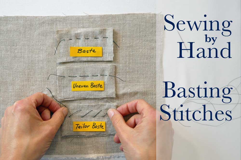 Sewing By Hand Even Basting Uneven Basting Tailor Basting The Enchanting Uneven Stitches On Sewing Machine