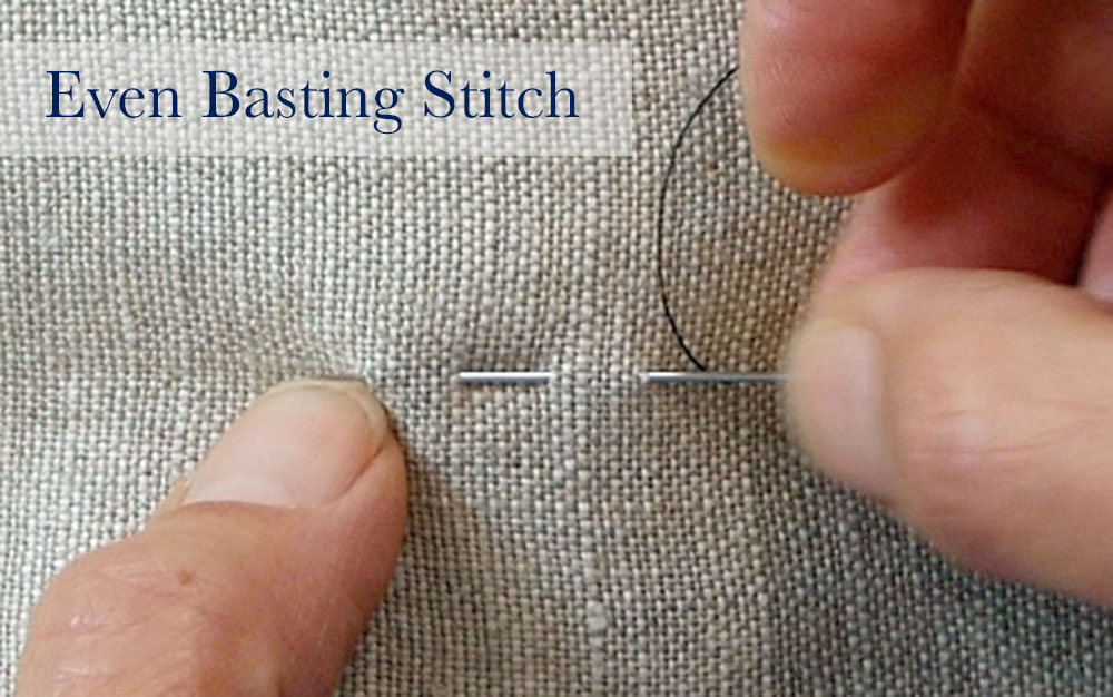 Sewing By Hand Even Basting Uneven Basting Tailor Basting The Custom Uneven Stitches On Sewing Machine