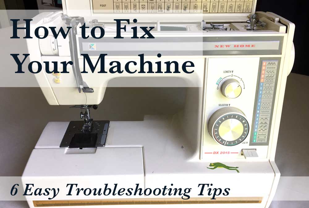 Why Your Sewing Machine Is Acting Crazy And How To Fix It The Adorable How To Fix A Sewing Machine