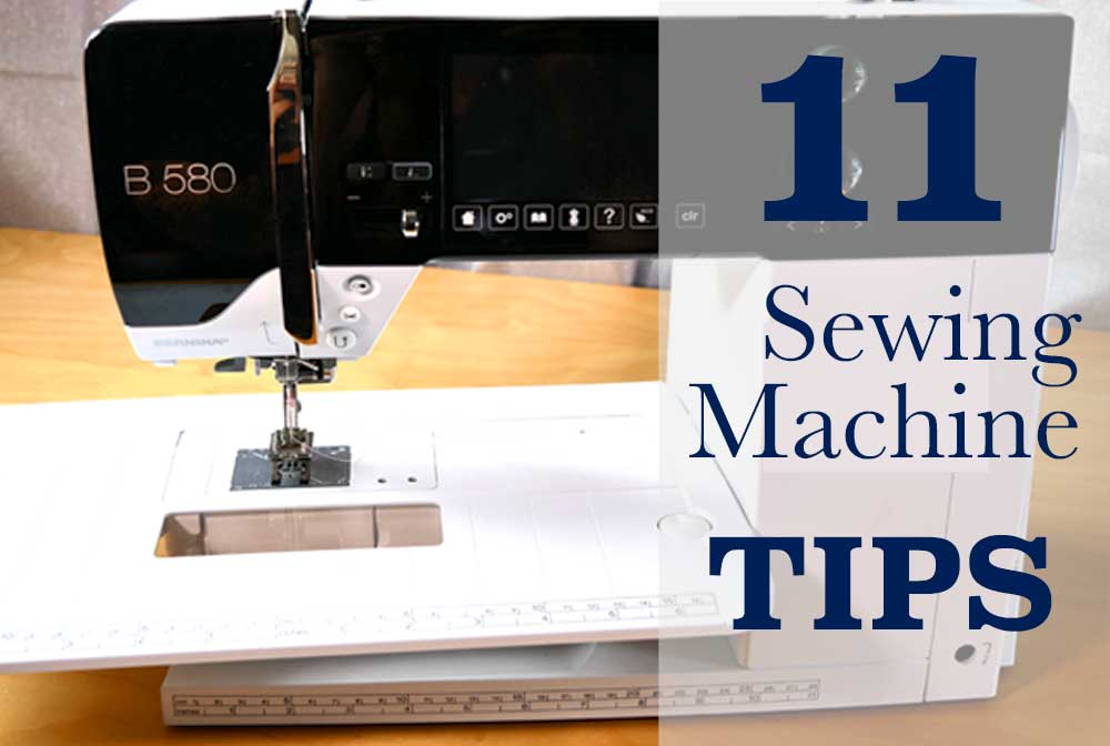 40 Tips To Get The Best Out Of Your Sewing Machine The Daily Sew Beauteous Sewing Machine Tips