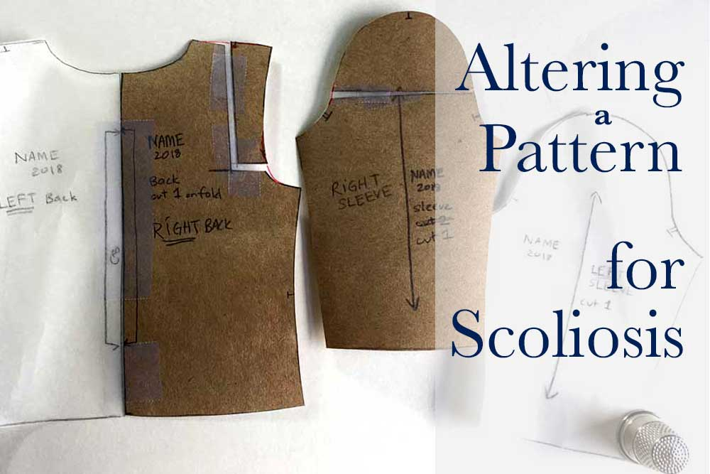 How to Alter a Sewing Pattern for Scoliosis – The Daily Sew